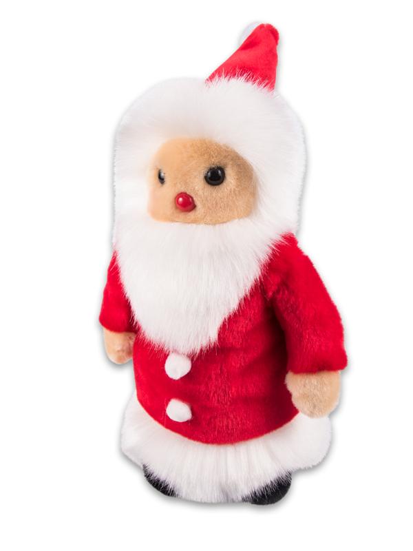 Weihnachtsmann Stofftier selber machen nähen Bastelpaket TIEKIDS