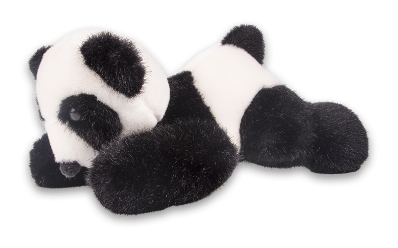 panda mink stofftier selber machen n hen bastelpaket tiekids. Black Bedroom Furniture Sets. Home Design Ideas