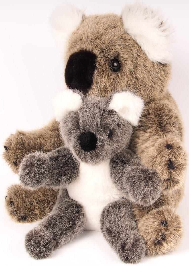 koala jacky stofftier selber machen n hen bastelpaket tiekids. Black Bedroom Furniture Sets. Home Design Ideas