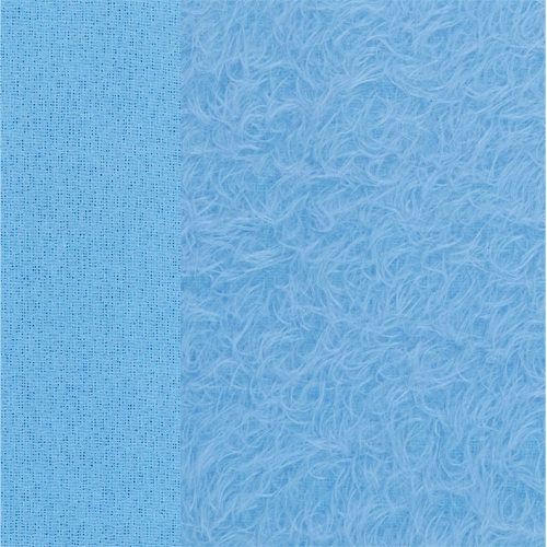 Mohair Wellness blau ±15 mm