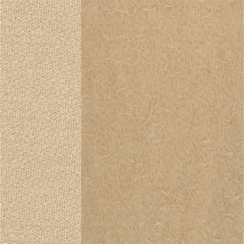 Antik-Art-Mohair hellbeige ±12 mm
