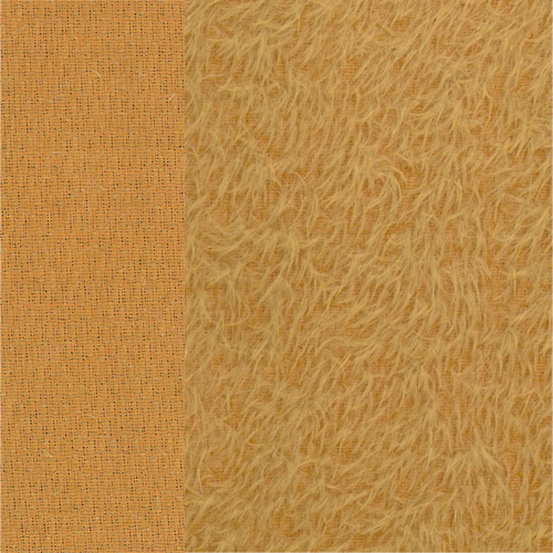 Antik-Art-Mohair goldgelb ±12 mm