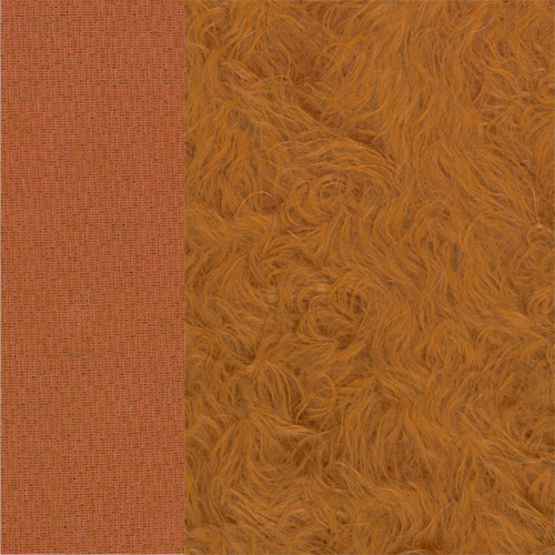 Curly-Sparse-Mohair fuchsrot ±25 mm