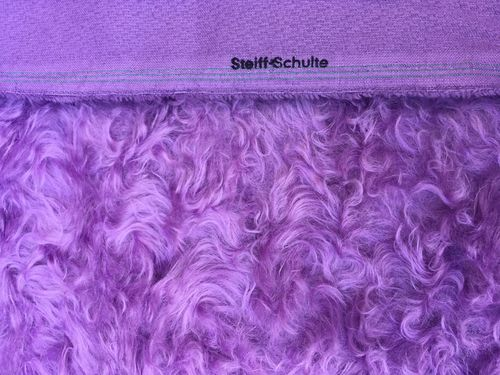 Mohair gelockt pastell-orchidee ±42 mm